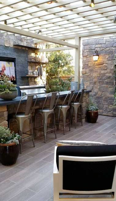 15 idées pour aménager une cuisine d\'été à l\'extérieur | Terrasse ...
