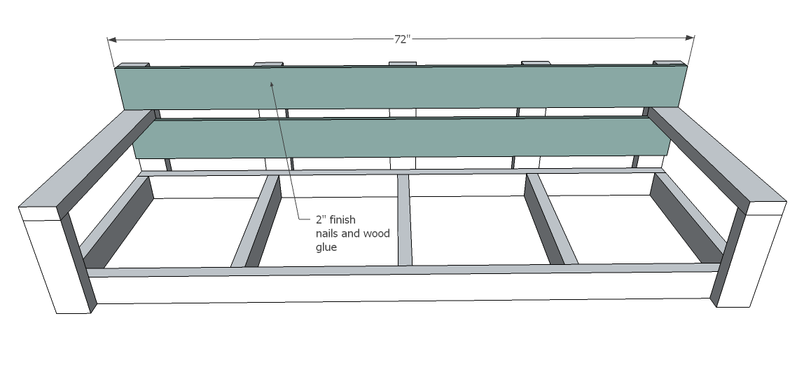 Ana White Build A Large Modern Porch Swing Or Bench