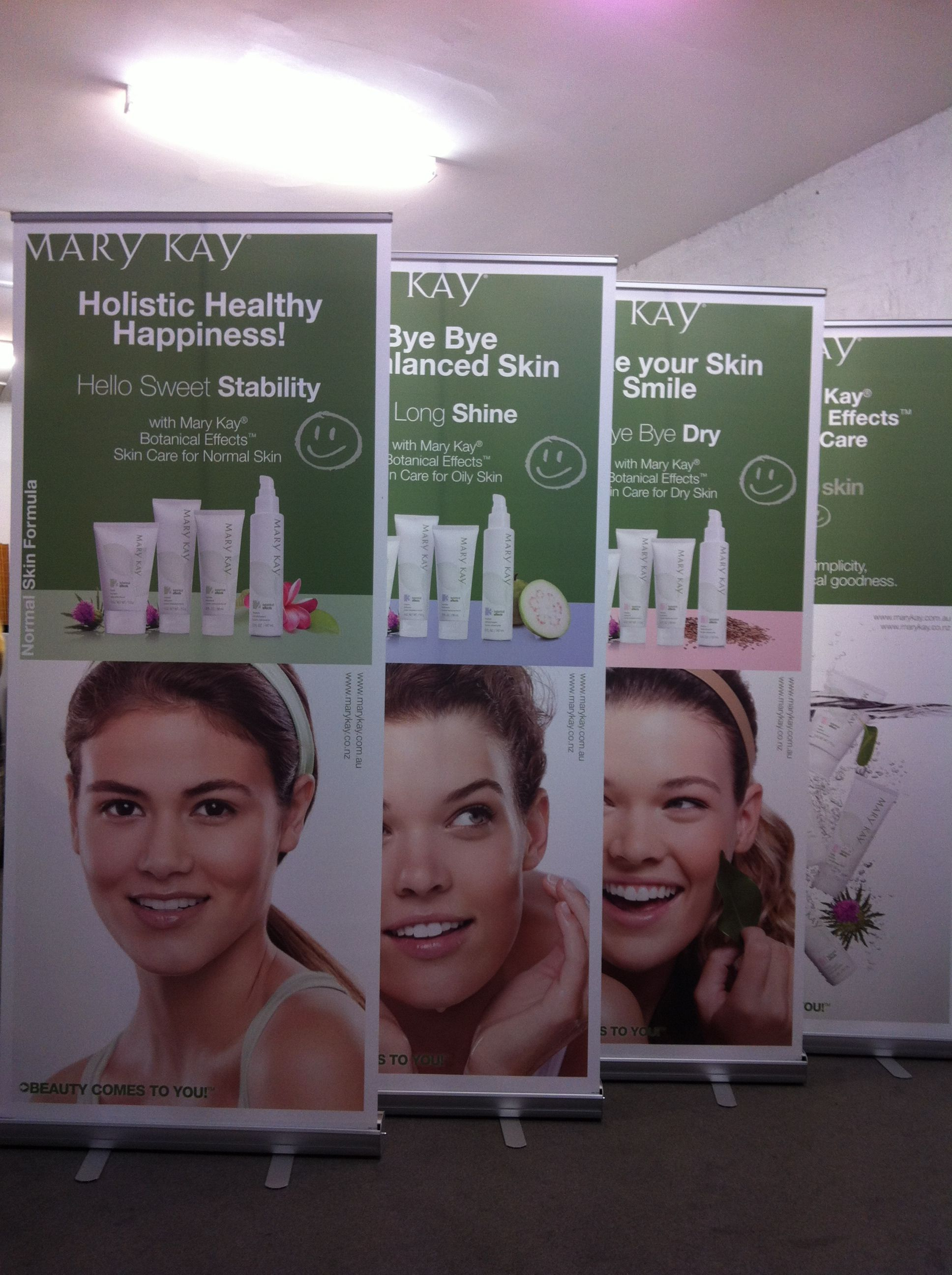 Portable banners for Expo's or Presentations.