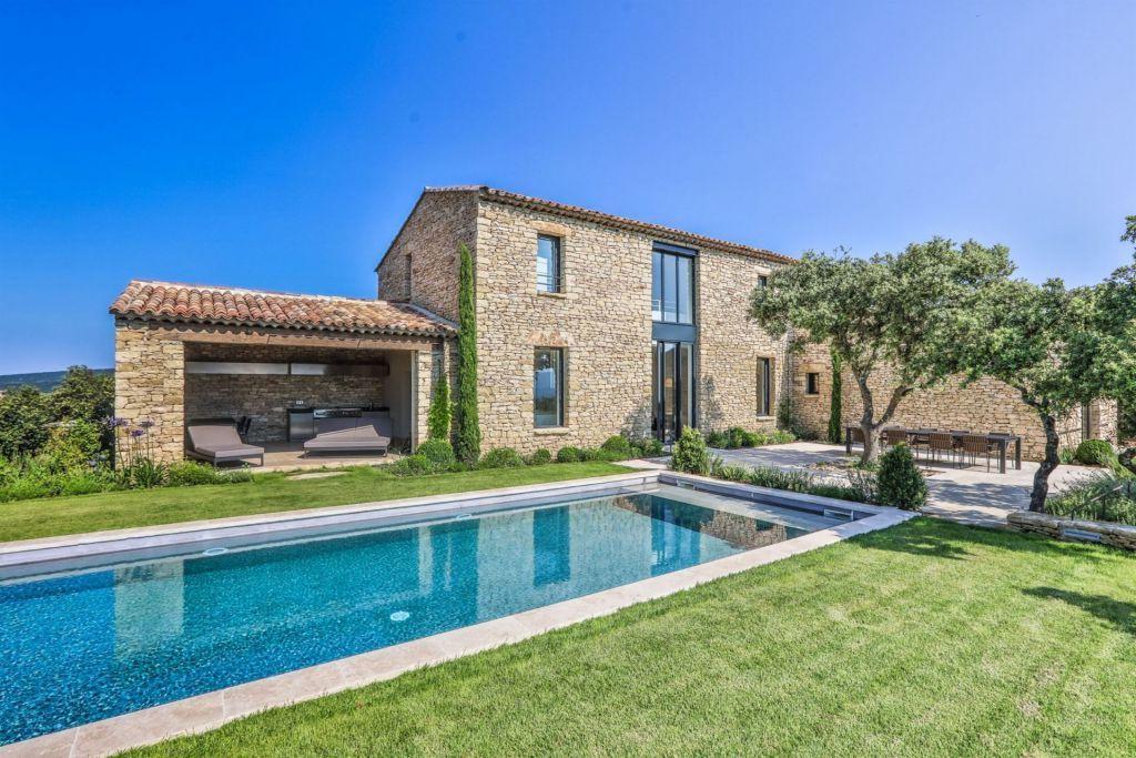 Location saisonni re maison gordes 84220 bel air pr3 - Location maison avec piscine luberon ...