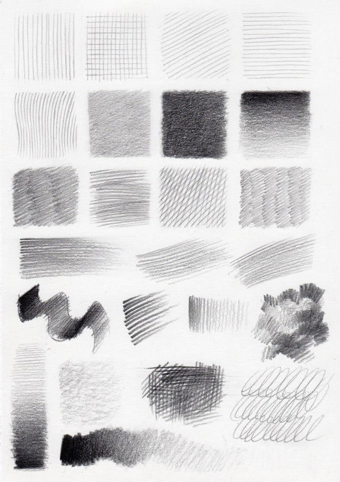 Shading drawing texture art tips drawings pencil techniques sketch also this chart shows the hardness or softness used to obtain each rh pinterest