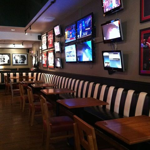 Characters Sports Bar & Grill is waiting for you with 18 HDTVs, 14 ...