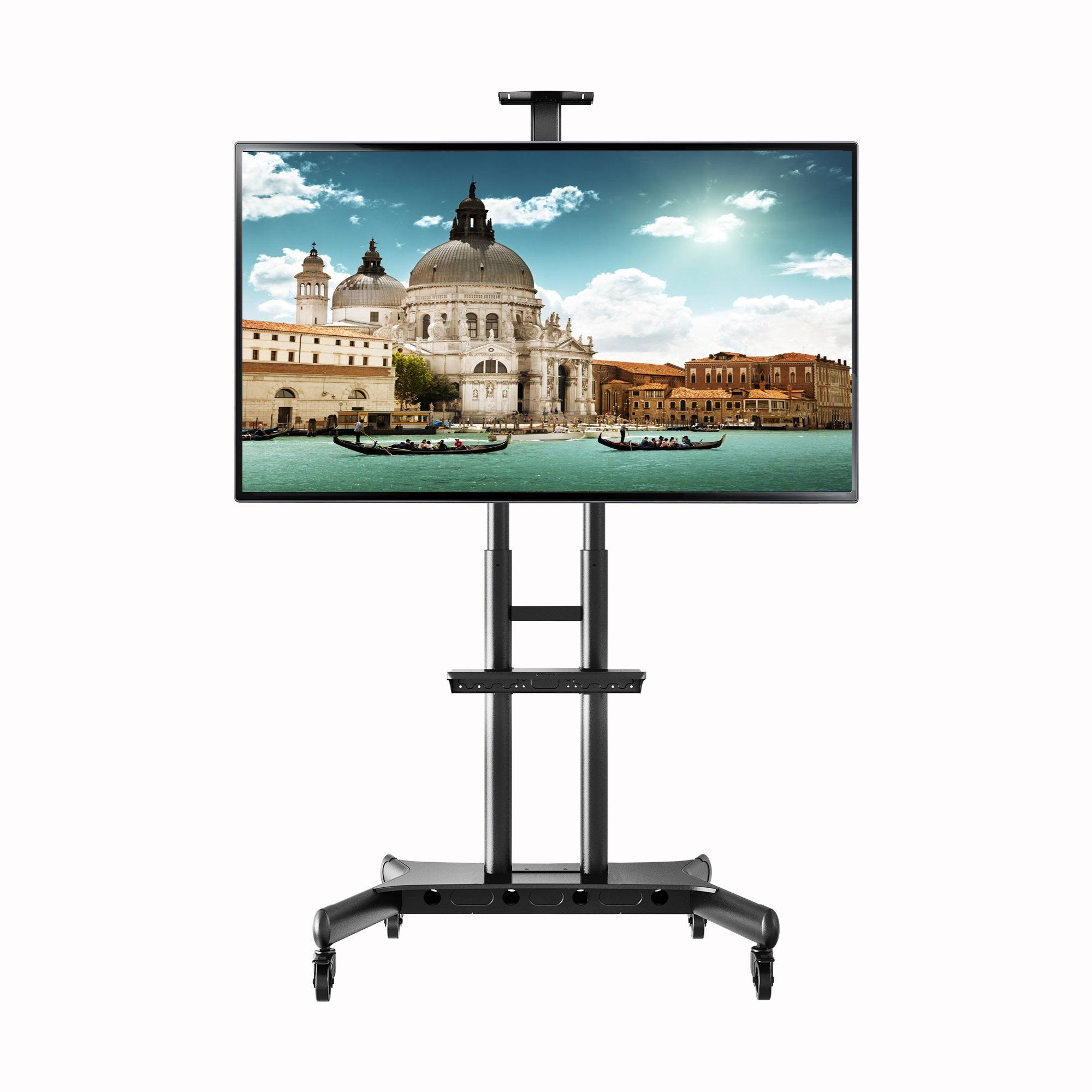 Northbayou Ca70 Multi Functional Mobile Tv Cart For 50 80 Led
