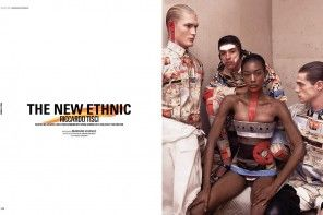 «THE NEW ETHNIC» GIVENCHY BY RICCARDO TISCI FOR DSECTION