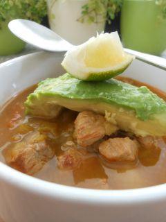 New Mexico Green Chili Pork Stew | Cosmo Hippie Chef