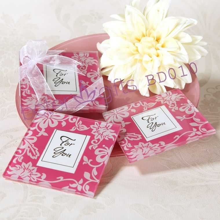 Free Shipping 100pcs=50box Spring Themed Glass Coaster wedding decoration and wedding favors BD010 xmas gifts wholesale             http://aliexpress.com/store/product/Free-Shipping-100box-Pink-Flip-Flop-Bottle-Opener-wedding-bomboniere-WJ058-B/513753_1719869702.html  #weddingfavors #weddingideas #partydecoration #beachparty #summerparty #souvenirs #beterwedding  #bomboniere