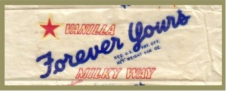 Forever Yours Candy Bar