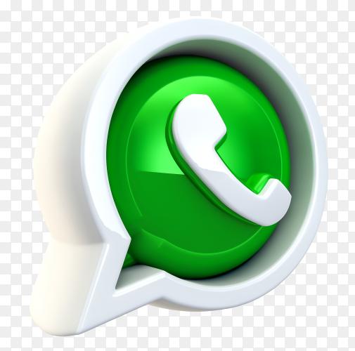 3d Whatsapp Logo Transparent Background Png Instagram Logo Png Transparent Background