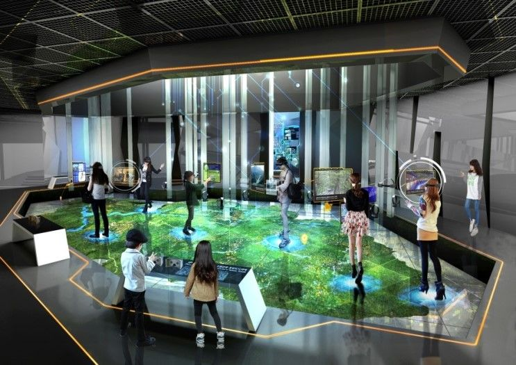 Art In Paradise D Exhibition Hall : Coal mine culture integrated tourism support center
