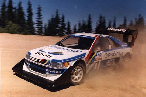 Peugeot 405 T16 Pikes Peak Hill Climb version  Rally Racing