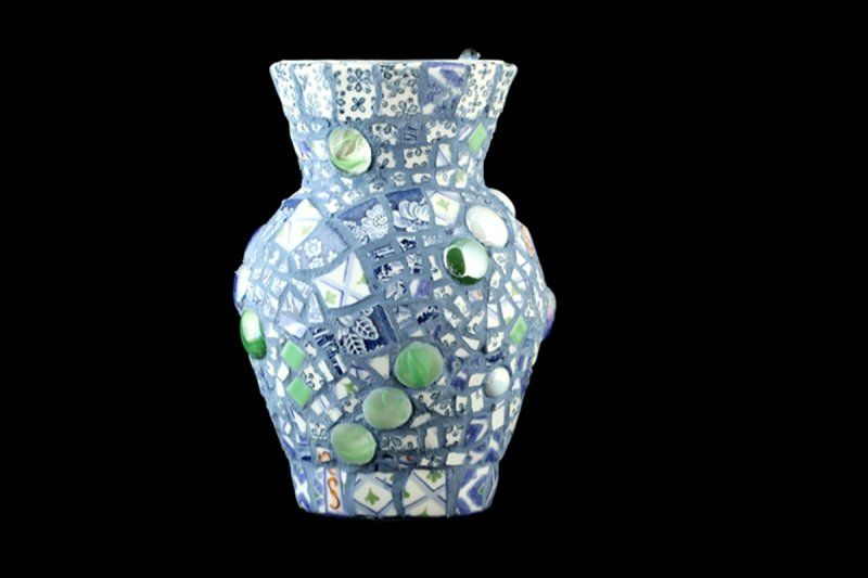 Past Work - Pique Assiette Mosaic Art