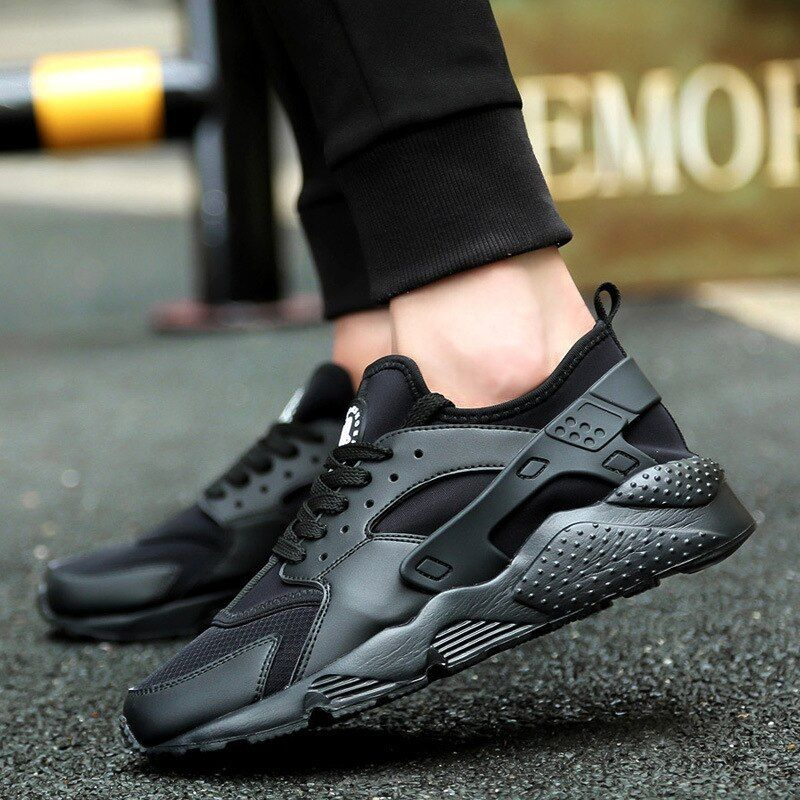 Men Shoes Sport Sneakers Autumn Winter Warm Running Shoes for Couples Grey