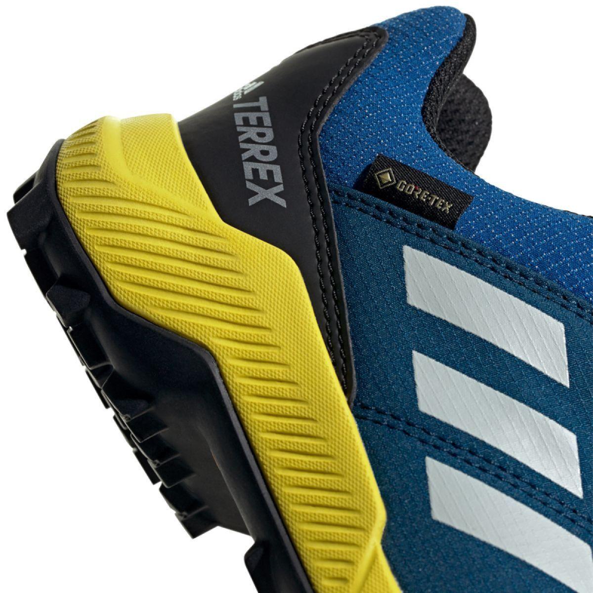 Buty Adidas Terrex Gtx Jr Bc0599 Niebieskie Junior Shoes Sports Shoes Adidas Durable Shoes