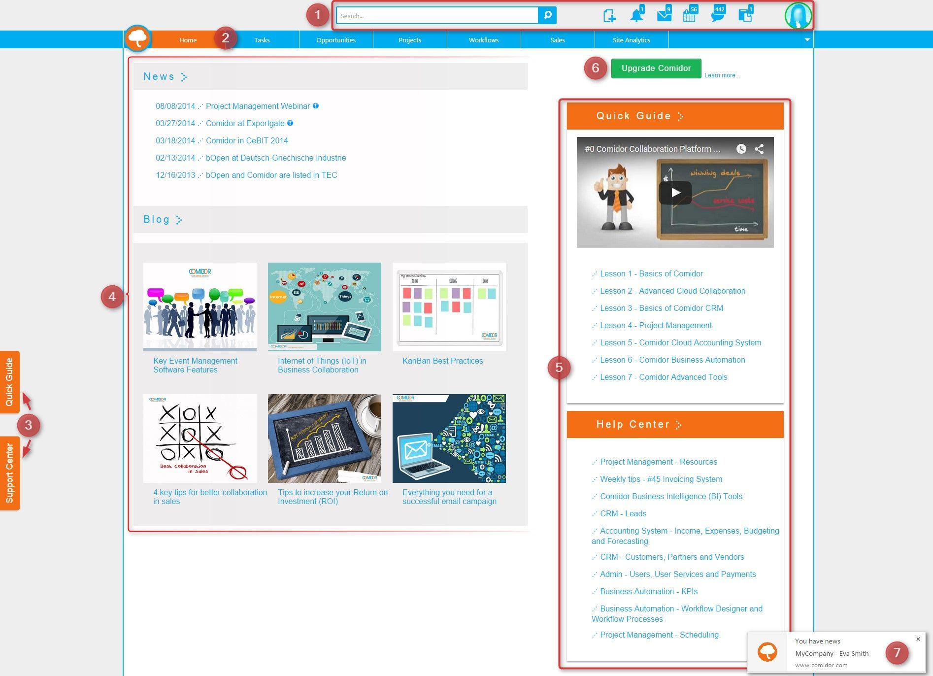 New Homepage | Enterprise Collaboration - Advanced Task Management
