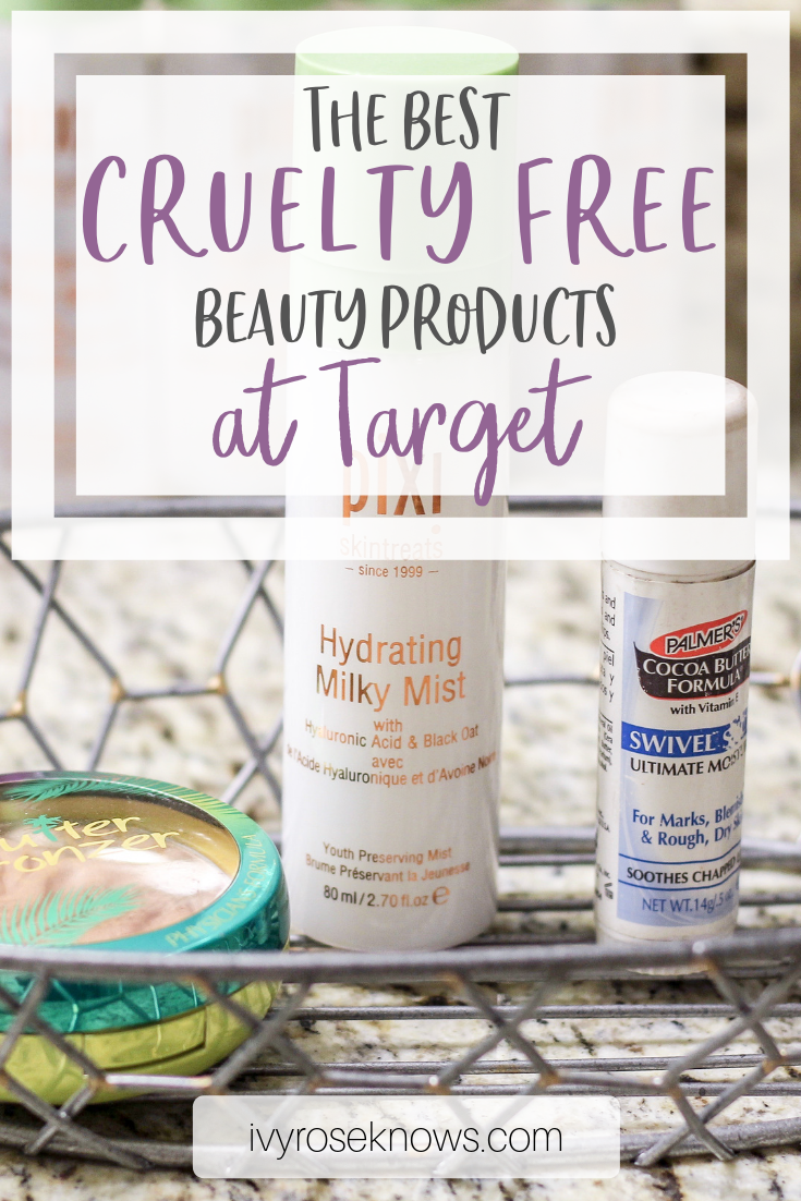The Best Cruelty Free Beauty Products at Target Cruelty
