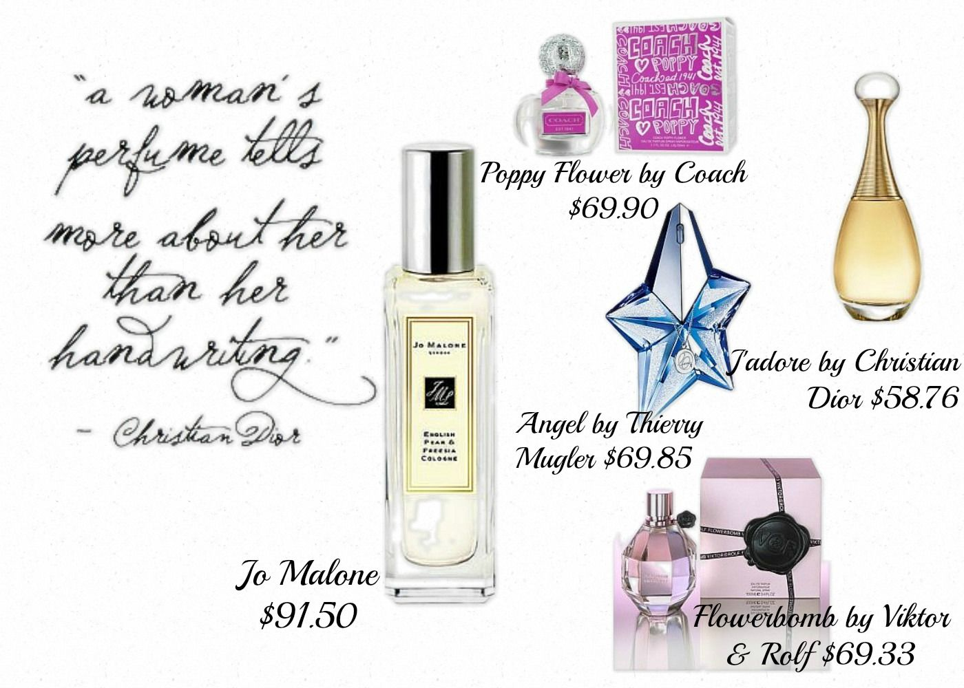 Top Women's Fragrances of 2013: I think I may have found a few fav for Spring !