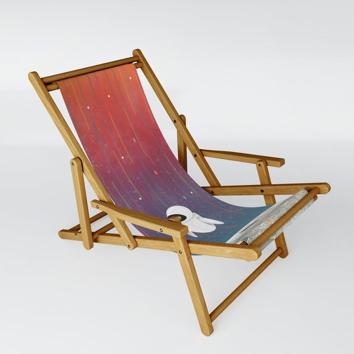 Moon Landing Patio Sling Chair by Gypsy Queen - One Size