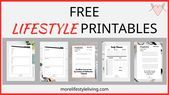 #Business #Free #Home #Lifestyle #Printables #Today Free lifestyle Printables to help you in your home or business! Get yours today from #morelifestyleliving
