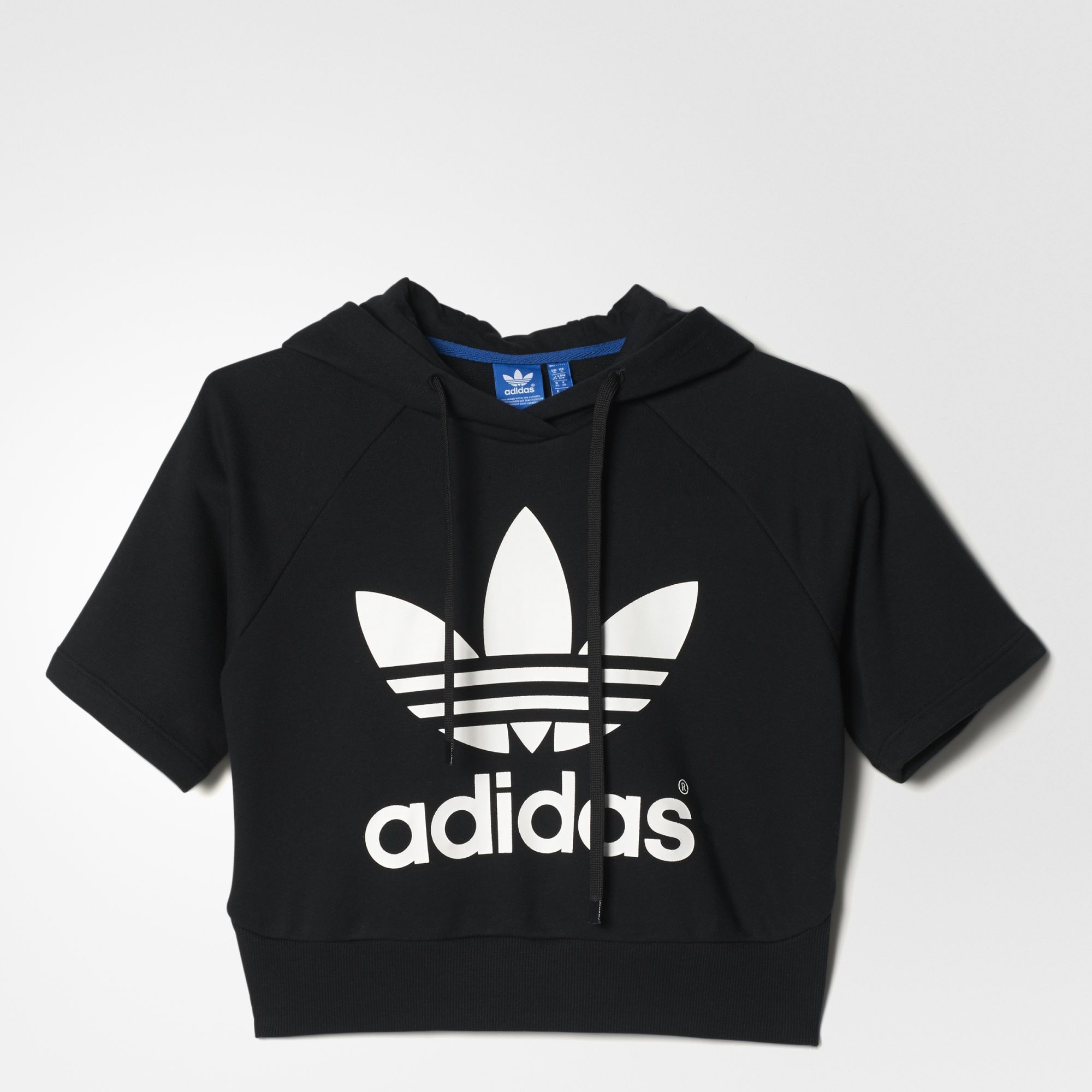 Womens Running Crop Hoodie || ADIDAS || $90 Clothing, Shoes & Jewelry :