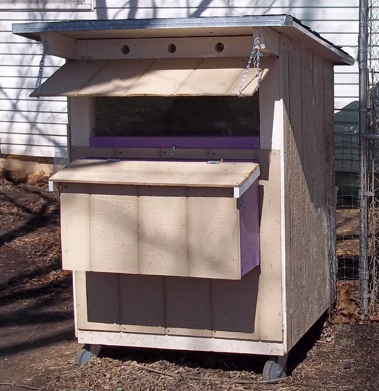 low cost backyard mini chicken coop building plans book other