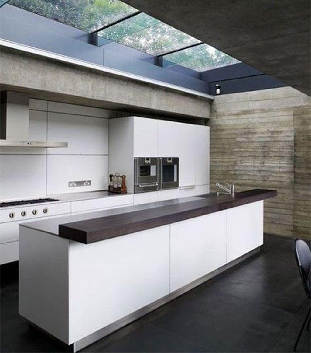 awesome 46 cheap minimalist home decor ideas minimalist kitchen interiors skylight design on kitchen ideas minimalist id=78049
