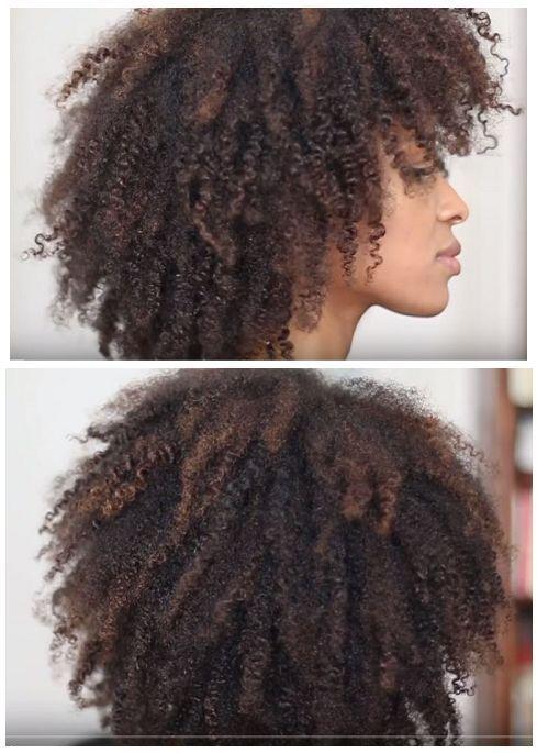 Coiffer et couper toute seule ses cheveux cr�pus : les secrets d'une coupe afro d�grad�e r�ussie !