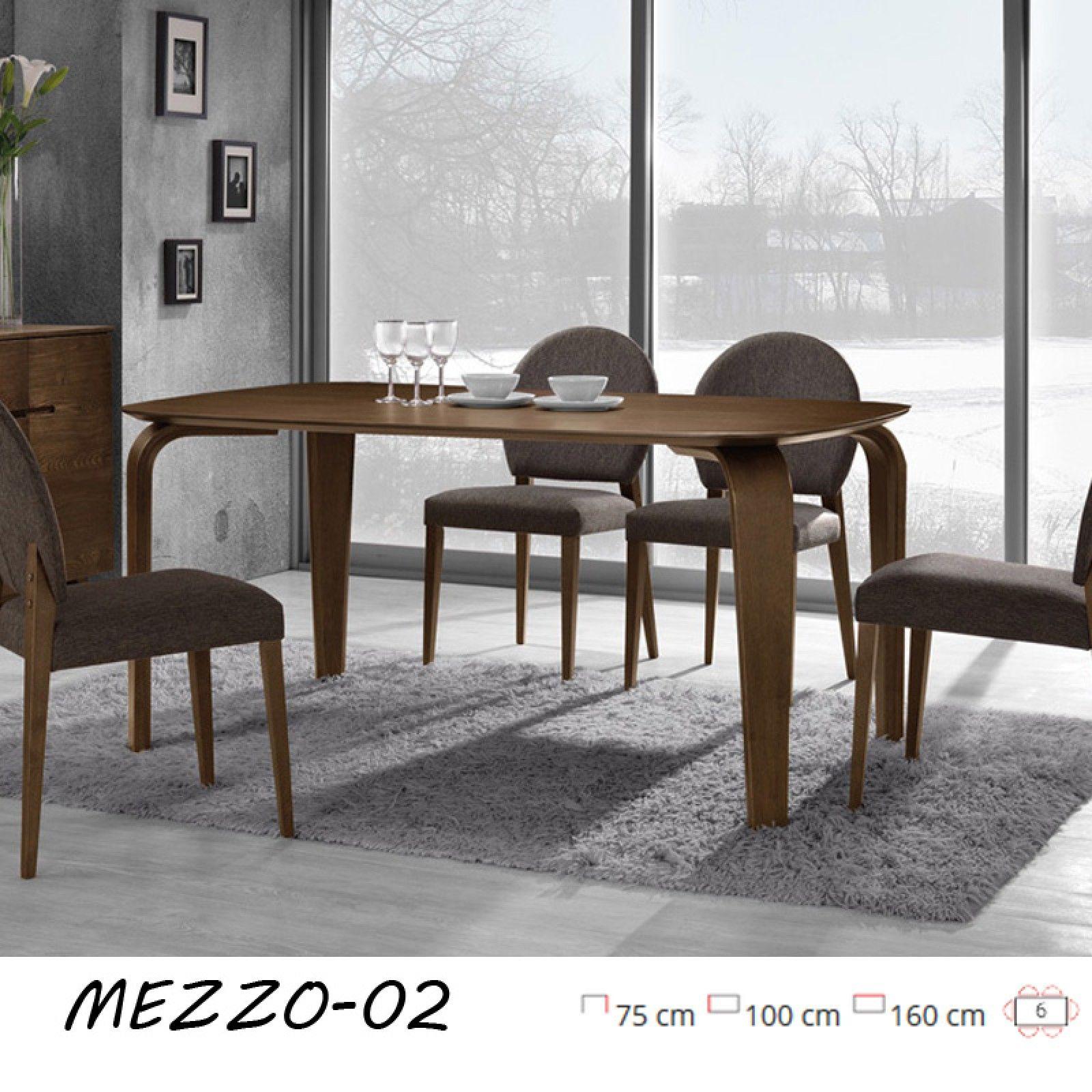 Egyszerűen vonzó! Ez a loft stílusú, sötét dió színű étkezőasztal ...