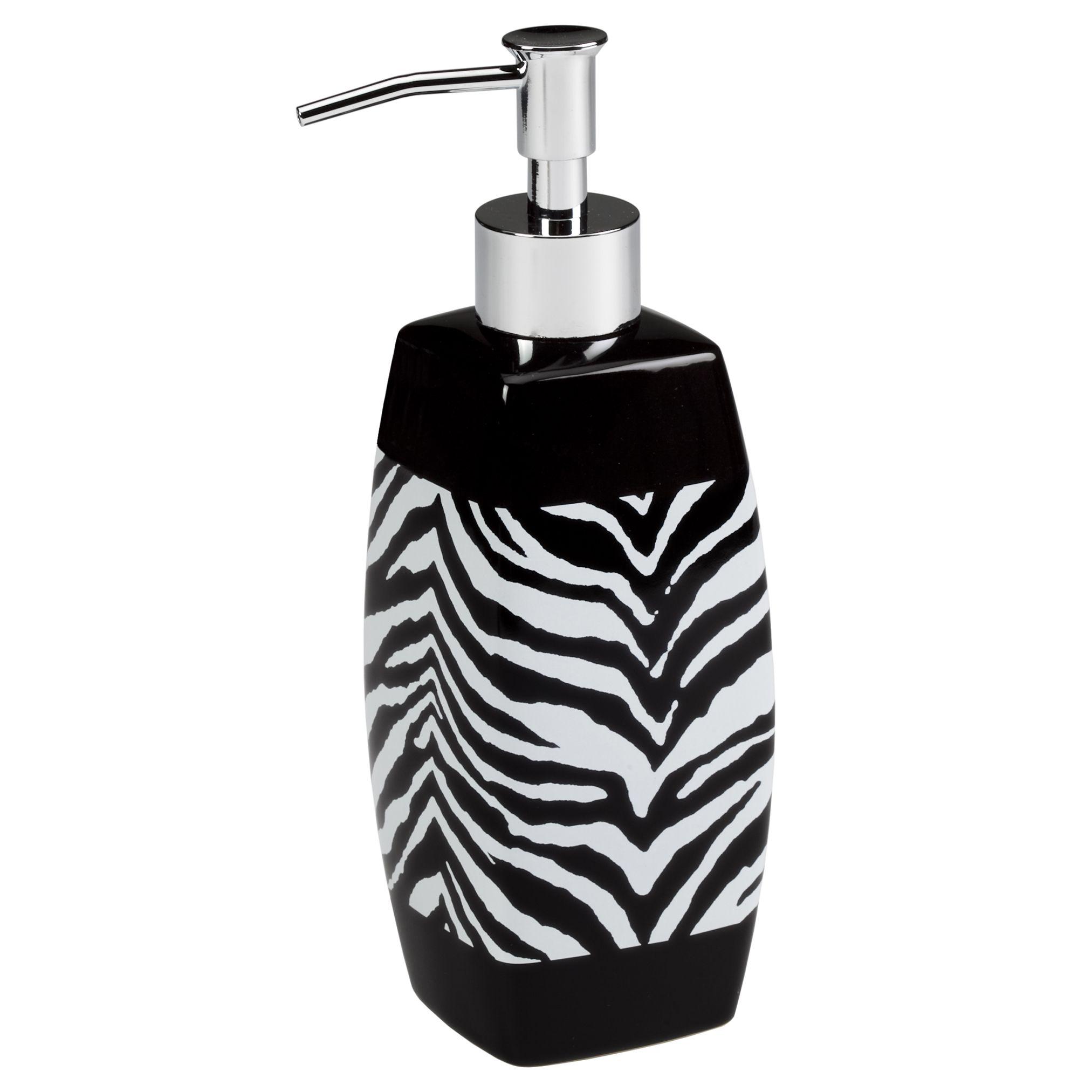 Creative Bath Zebra Lotion Dispenser, Multi | Products | Pinterest ...