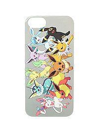 Pokemon The Evolution Eevee iphone case