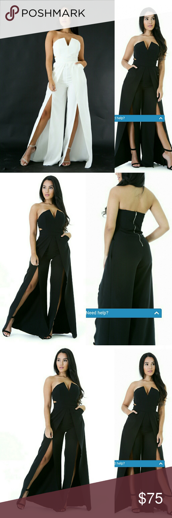 9e2e3dd1ceb8 Cut Out Flare Leg Jumpsuit This jumpsuit features a thick slightly non-stretch  material