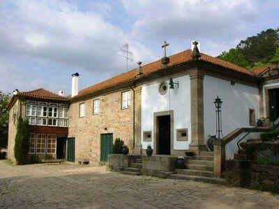 Quinta da Mata da Família Moura Moraes. Chaves.