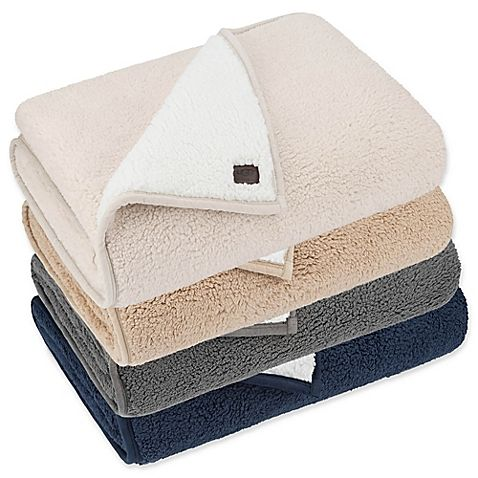 Ugg Throw Blanket Prepossessing Ugg Classic Sherpa Throw Blanket In Sesame  Ugg Classic Dream Decorating Design