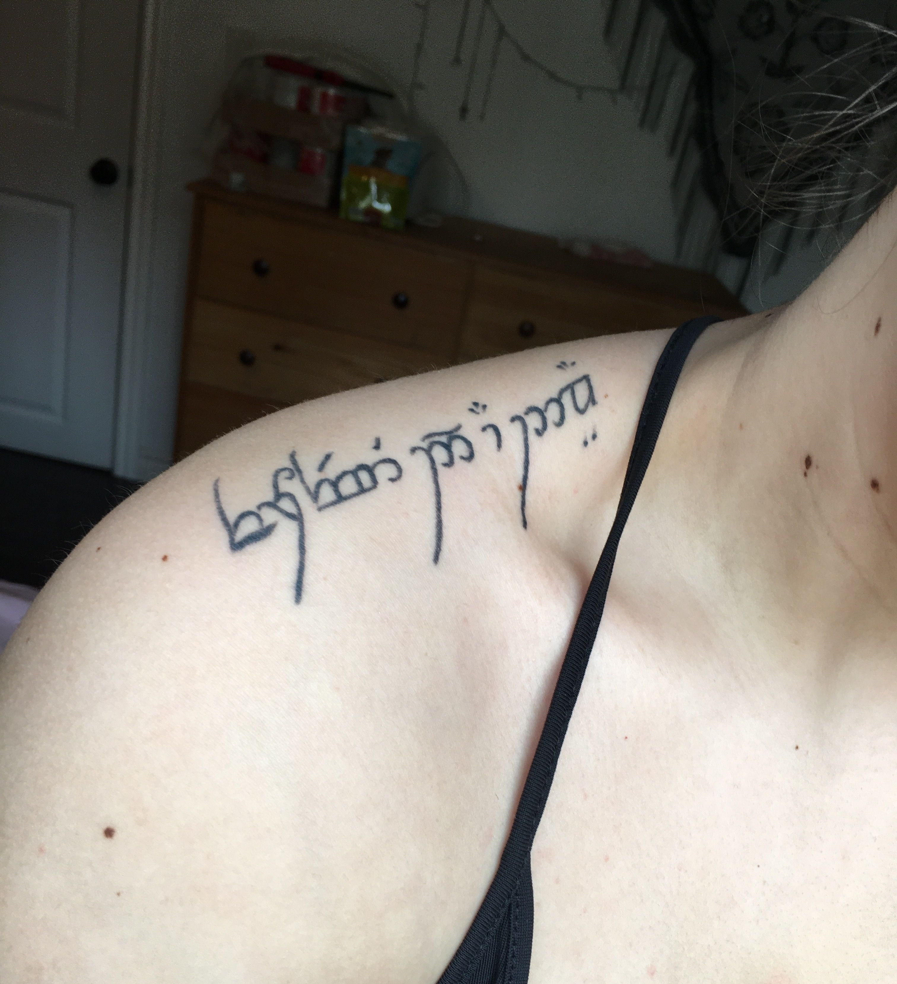 Elvish Tattoo Forever And A Day Tattoos