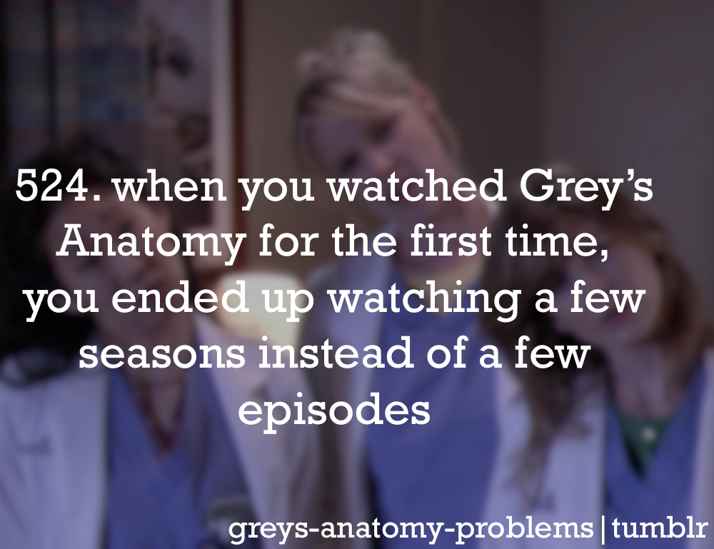 Grey's Anatomy Problems: Photo