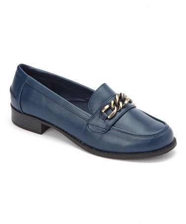 This Navy Augusta Loafer by Bellini is perfect! #zulilyfinds