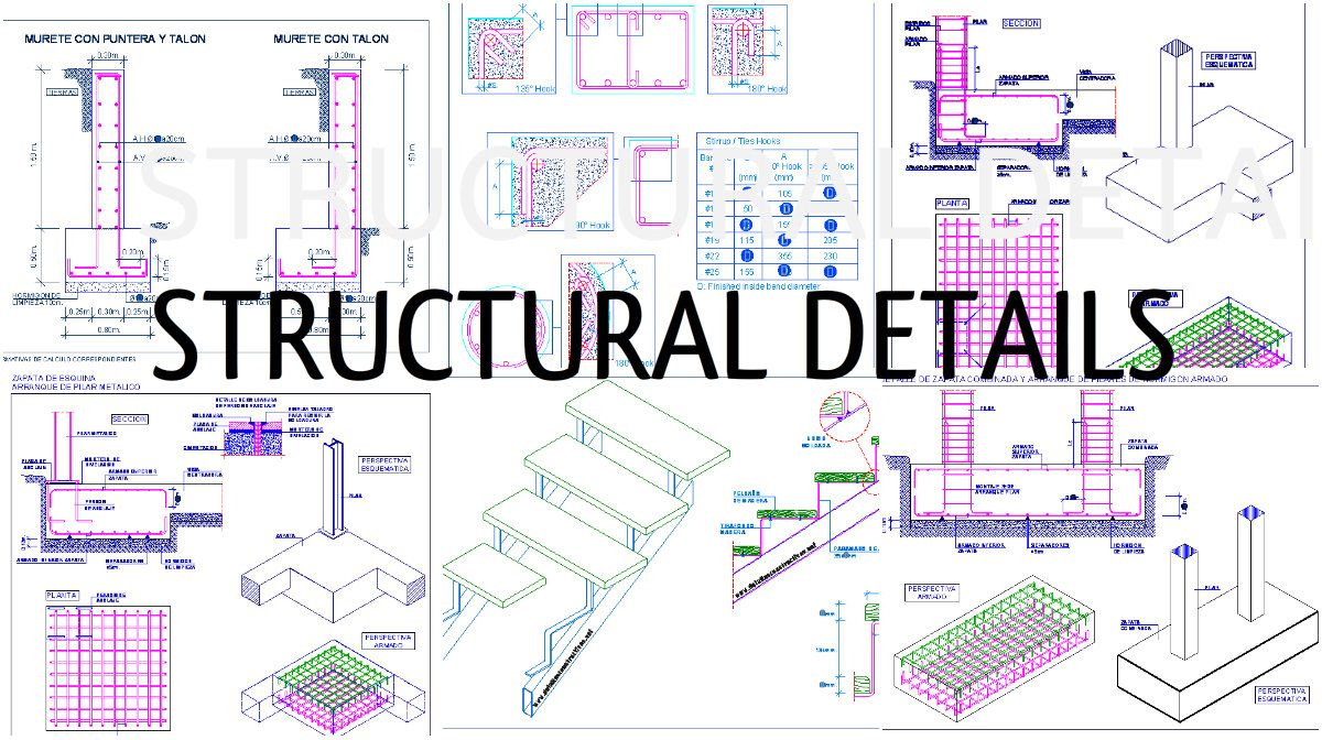 Some Structural Details Of Stair Construction Process Construction Process Process Engineering Construction