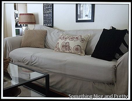 Fabulous Drop Cloth Slip Cover No Sew Sofa Covers Sectional Pdpeps Interior Chair Design Pdpepsorg