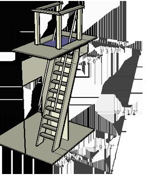 Ship S Ladder Plan Ladders Pinterest Attic Attic