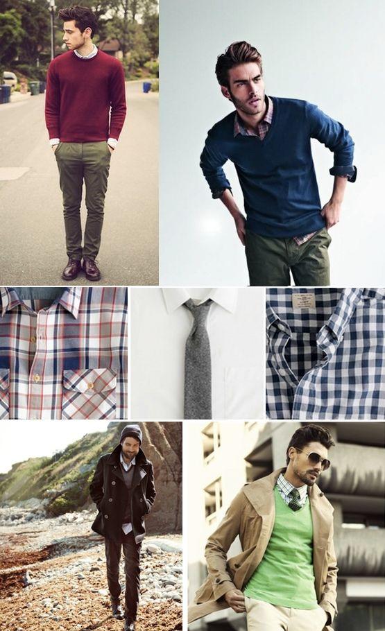 El suéter y la camisa de cuadros son todo un clásico del guardarropa  masculino. Haz clic para saber qué más piezas son fundamentales en el fondo  de armario ... 6f1751dc874d