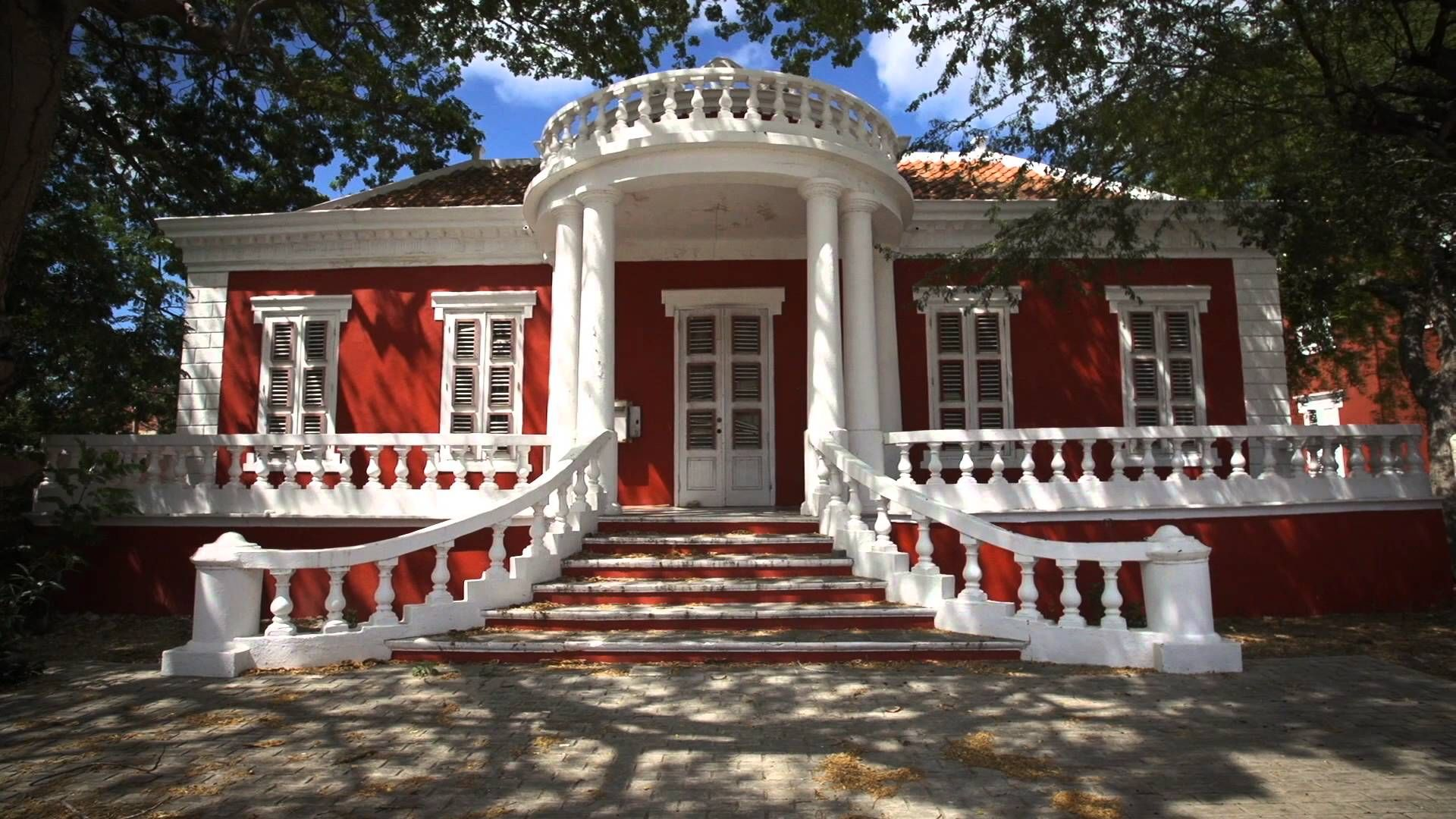 World Heritage City Willemstad Scharloo Curacao History Architecture Caribbean
