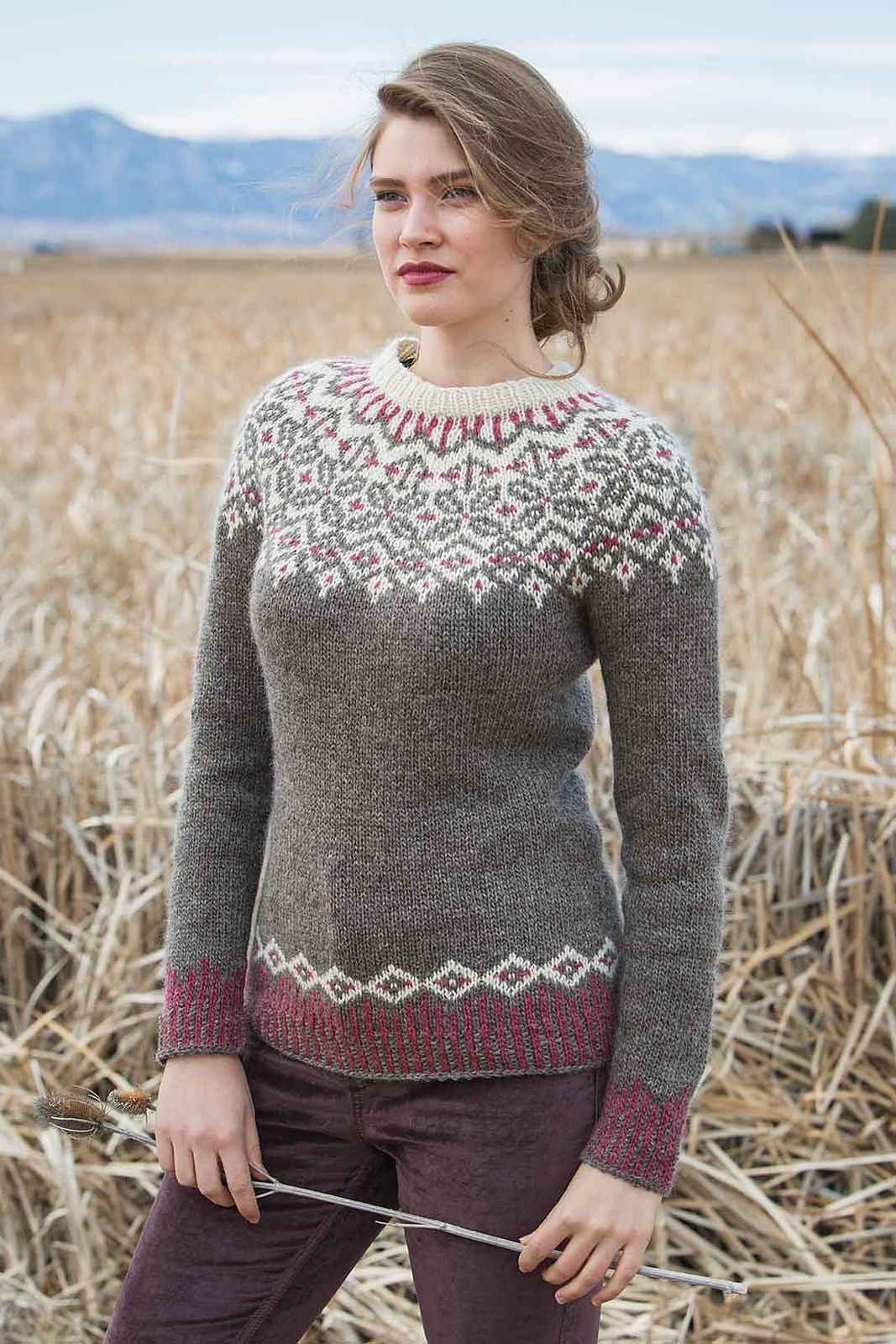 Grand Forks Pullover pattern by Cheryl Chow | Pinterest