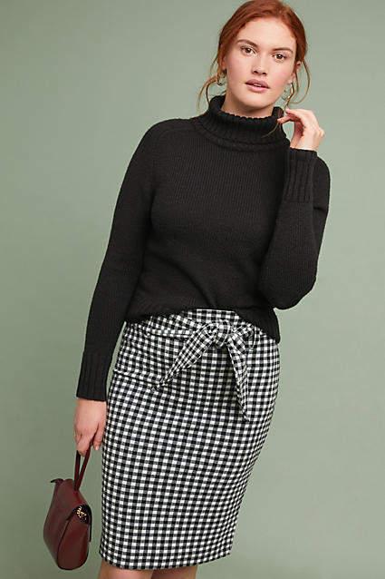 76af7bbf961 Maeve Gingham Pencil Skirt in 2019
