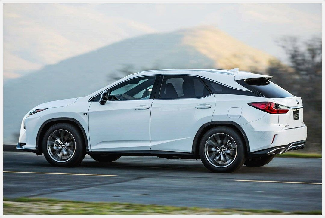 2020 Lexus RX 350 F Sport Release Date and Price Future