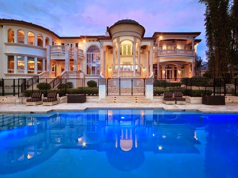 Million dollar homes florida tricked out mansions for Beautiful million dollar homes