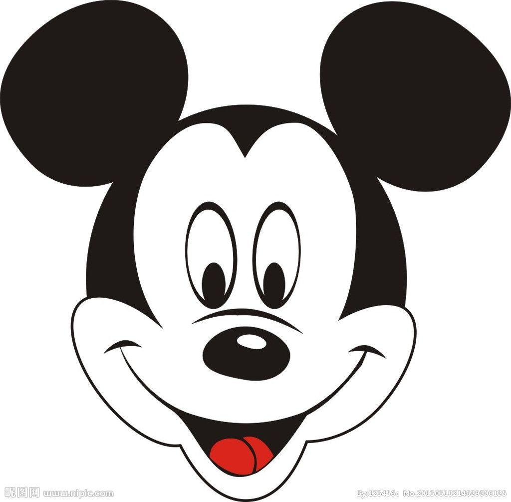 Dessin Tete De Mickey A Imprimer – Gamboahinestrosa