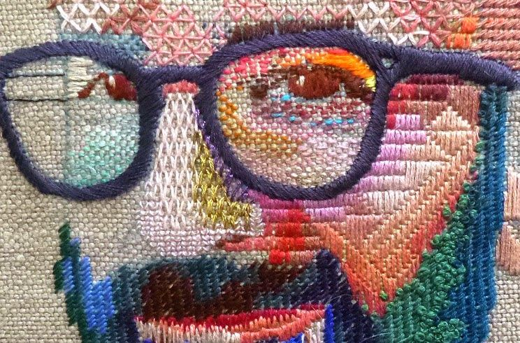 Hoy os presento a: Yolanda Andrés, la artista de la aguja.