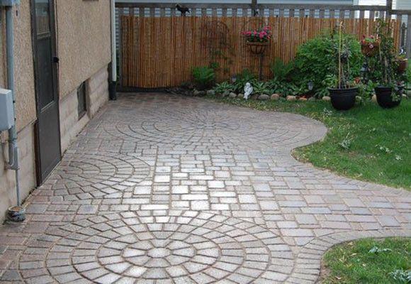 Resultado de imagen para decoracion adoquin piedra y for Ideas jardines exteriores