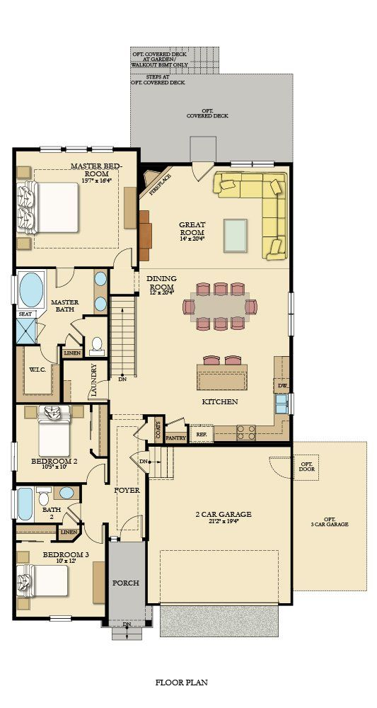 Felton New Home Plan In Amber Creek New House Plans House Plans New Homes