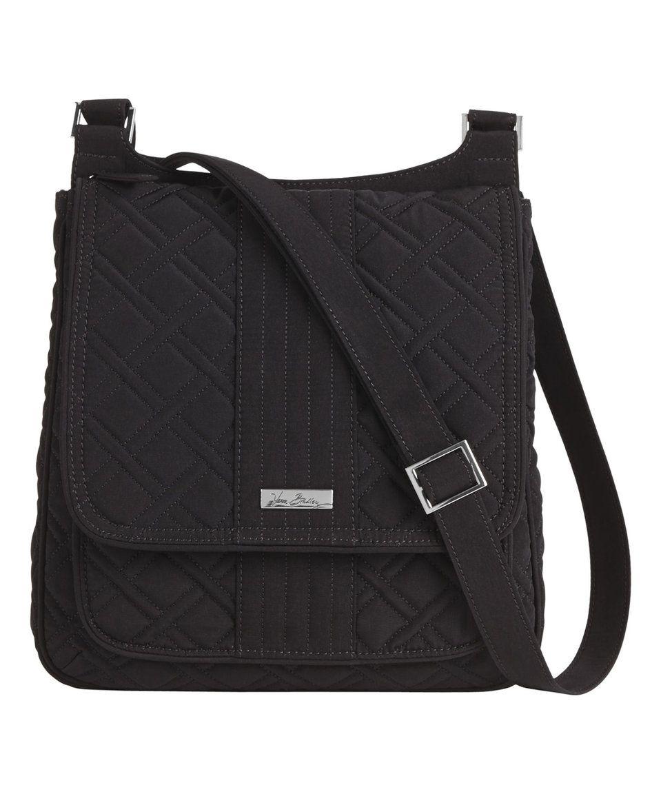 Black · Take a look at this Classic Black Mailbag Crossbody Bag today! Black  HandbagsVera BradleyCross ... 7e93042983d0e
