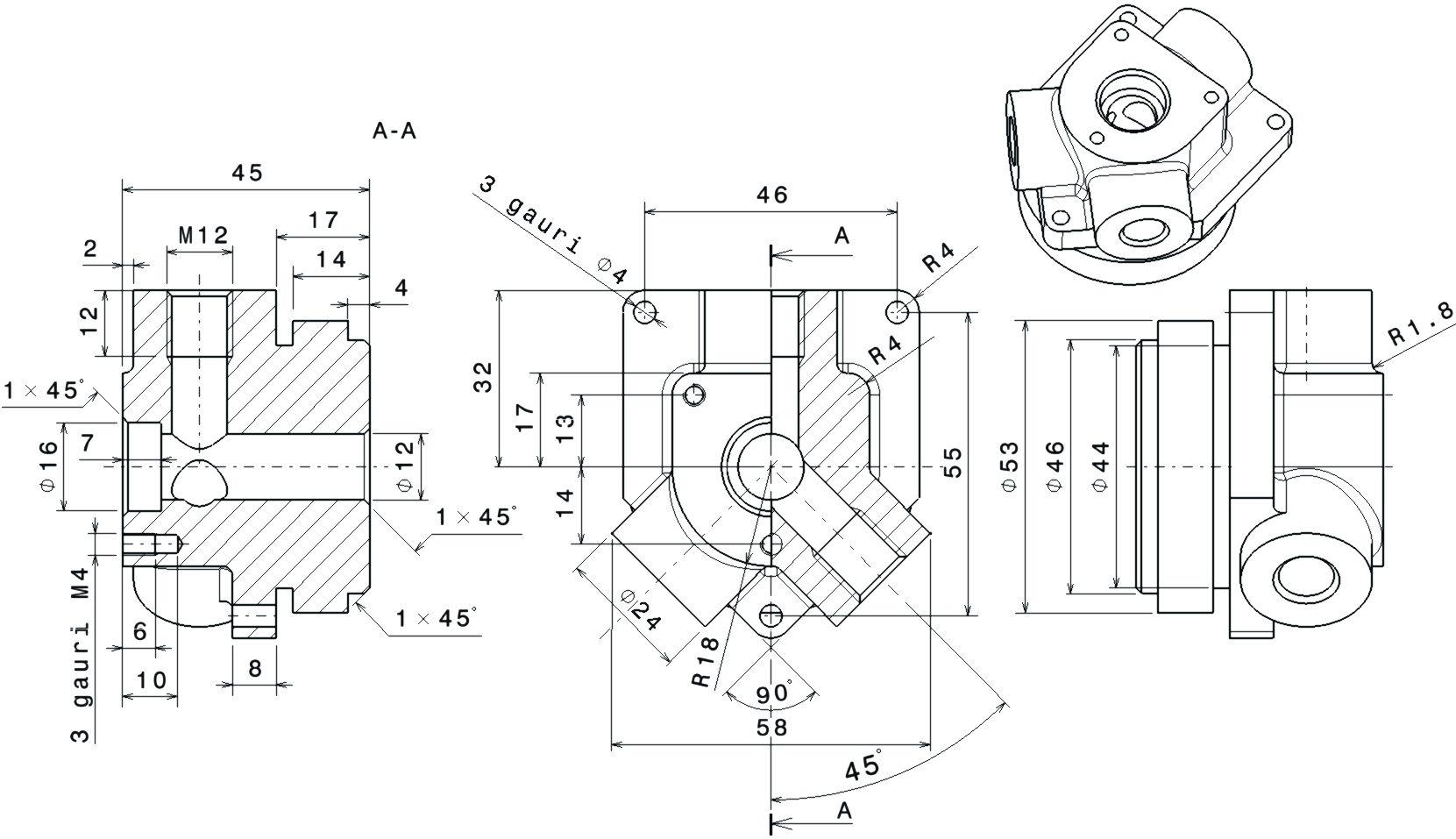 How to 3D model a mechanical part using CATIA Part Design